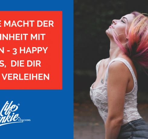 Möge die Macht der Gewohnheit mit dir sein – 3 Happy Habits, die dir Flügel verleihen