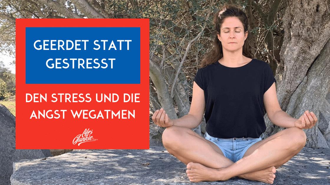 Stress und Angst loswerden – mit dieser Atemübung klappt's besser